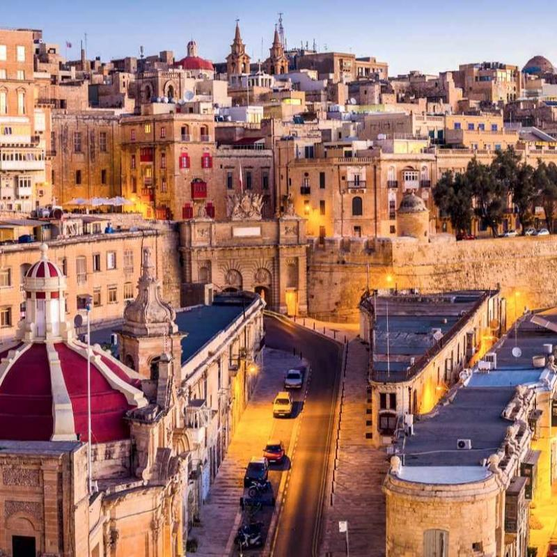 Valletta - The City of the Knights